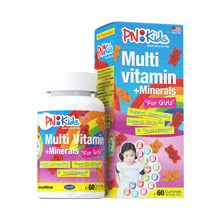 Multivitamin Minerals for girls