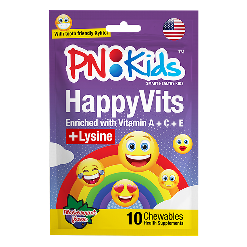 HappyVits Chewables Blackcurrant