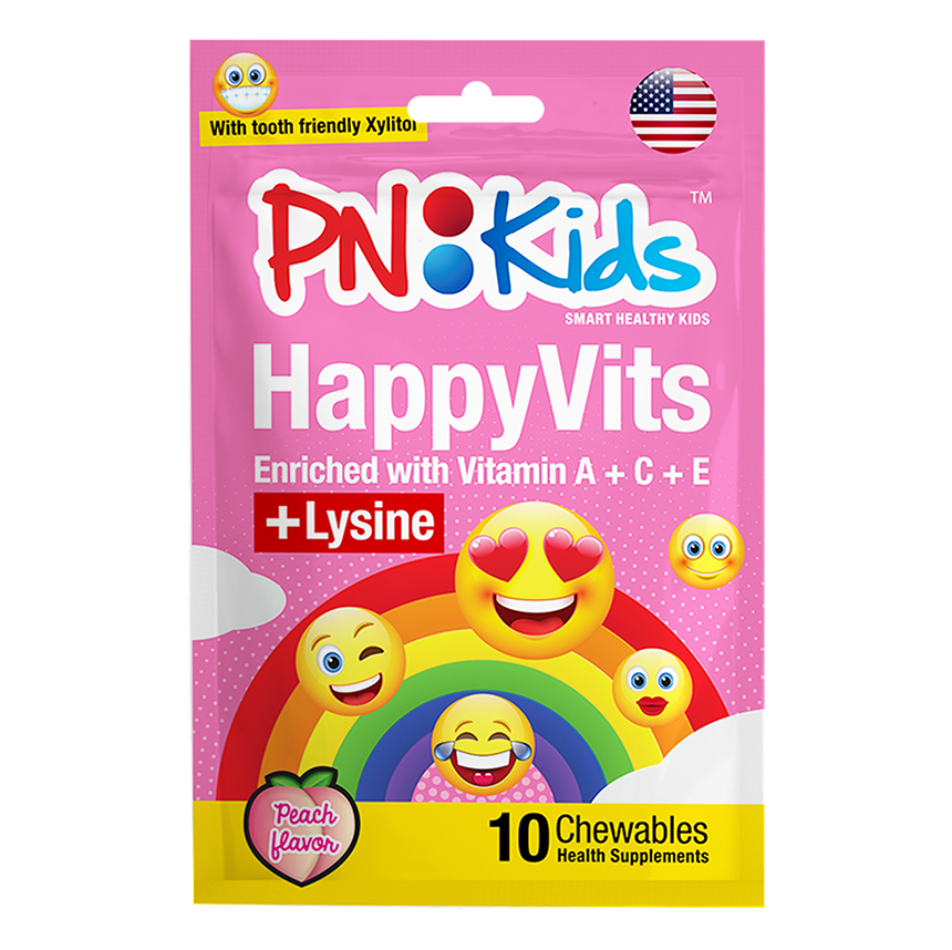 HappyVits Chewables Peach